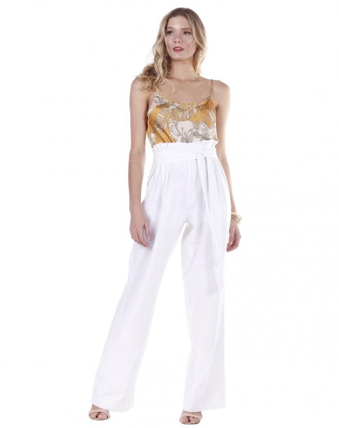 Calça Pantalona Clochard Lisa