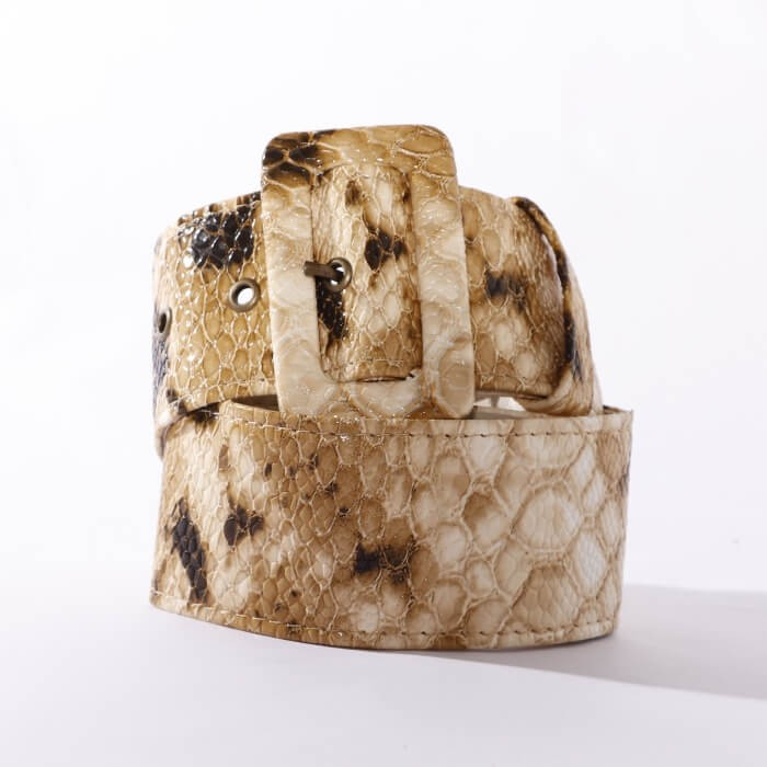 Cinto Estampado Animal Print