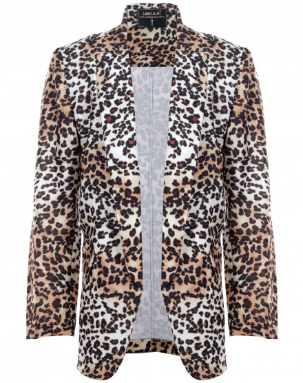 Blazer Estampado Animal Print
