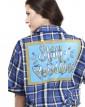 Camisa Manga Curta Xadrez Alice