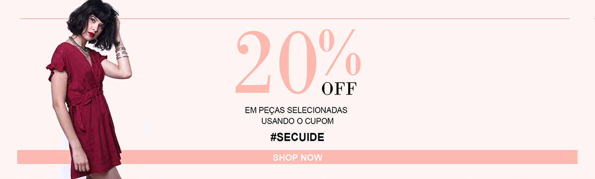 20% Off na categoria News #SECUIDE